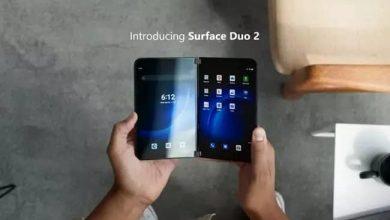 مايكروسوفت تكشف عن جهاز Surface Duo 2