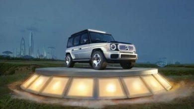 مرسيدس لديها نسخة مفاهيمية كهربائية من G-Wagen