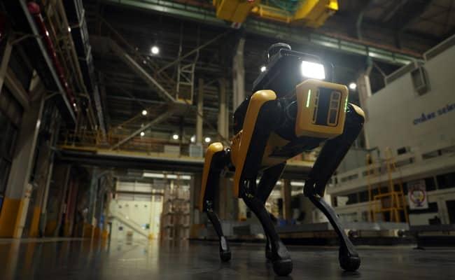هيونداي تجعل روبوت Spot يعمل كمفتش سلامة مصنع
