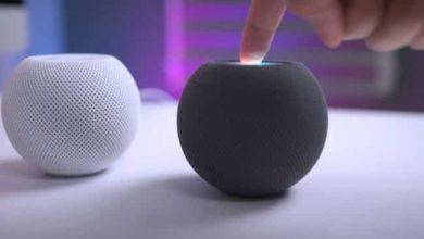 HomePod mini يصبح مكبر صوت Apple TV الافتراضي