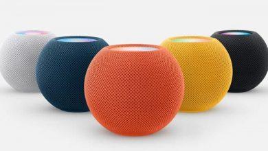 آبل تقدم HomePod mini بألوان جديدة
