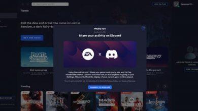 ديسكورد تتعاون مع EA لتمكين الحضور الغني